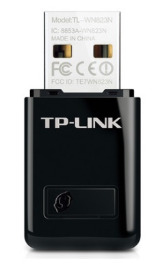 Mini Adaptador Wireless N USB 300 Mbps TL-WN823N - Tplink