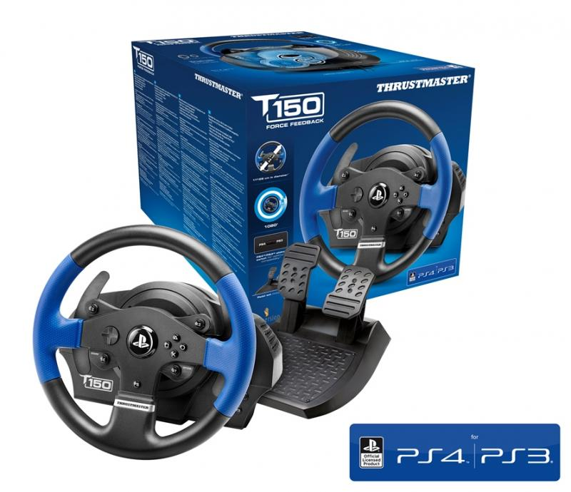 Volante T150 Force Feedback PS4/PS3/PC - Thrustmaster