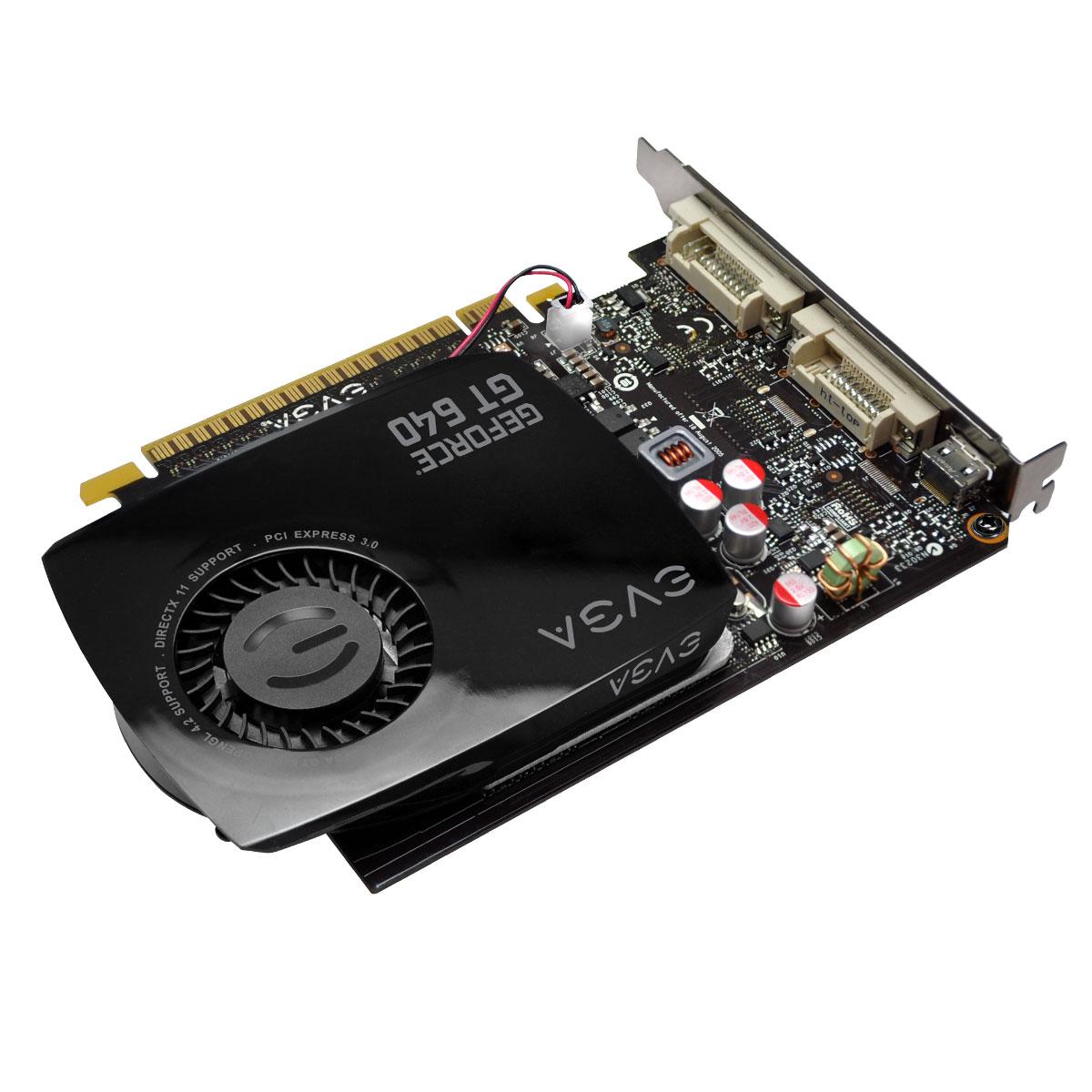 Placa de Video GeForce GT640 4GB DDR3 128Bits 04G-P4-2647-KR - EVGA
