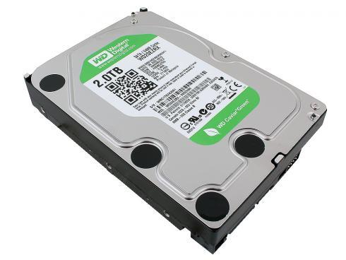 Hard Disk 2TB Sata III 7200RPM 64MB WD20EZRX - Western Digital