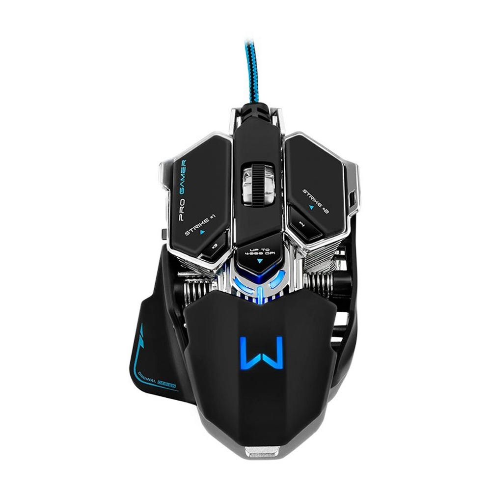 Mouse Gamer Warrior Mecânico 4000 Dpi MO246