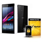 Smartphone Xperia Z Ultra C6843, 4G, Android 4.2, Camera 8MP, TV Digital, Tela de 6.4p + Capa + Lice