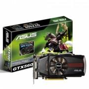 Placa de Video Geforce GTX560 DC 1GB DDR5 256Bits ENGTX560 DC/2DI/1GD5 - Asus
