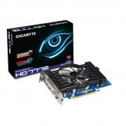 Placa de Video ATI HD7770 1GB DDR5 128Bits GV-R777OC-1GD Rev 2.0 - Gigabyte