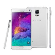 Smartphone Galaxy Note 4 N910C Branco - Android 4.4, Octa Core, Super AMOLED 5.7, 32GB, 16MP, 4G, S-