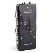 KVM Switch 4 Portas USB HUB20 (KVM41UA)
