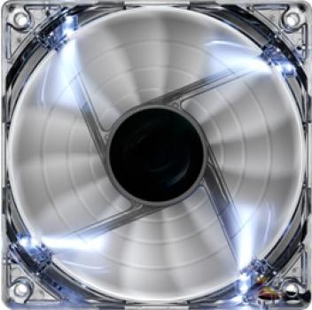 Cooler Shark Fan White Edition 120mm (LED Branco) EN55505 - Aerocool