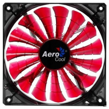 Cooler Shark Fan Devil Red Edition 140mm (LED Vermelho) EN55475 - Aerocool