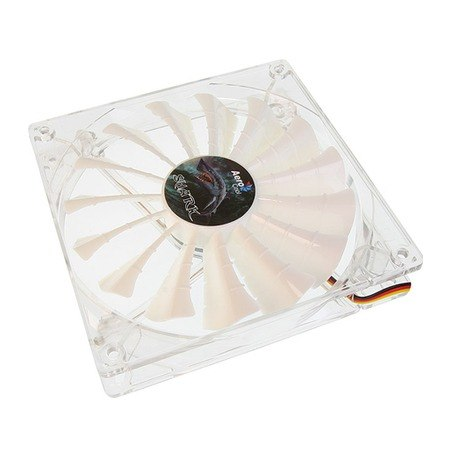 Cooler Shark Fan White Edition 140mm (LED Branco) EN55512 - Aerocool