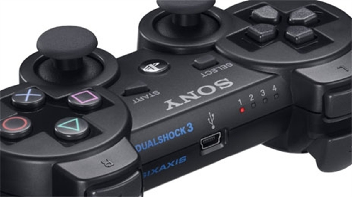 Controle para PS3 Dual Shock 3 Preto CECHZC2M/2U - Sony