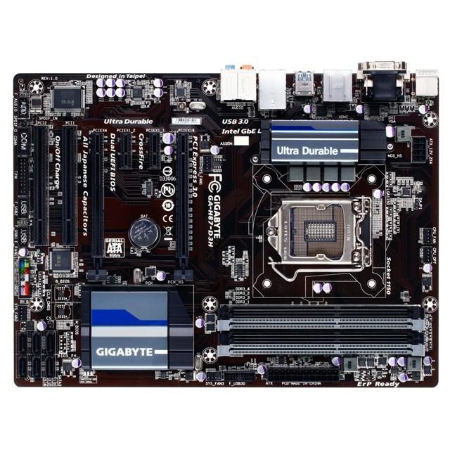 Placa Mae LGA 1150 GA-H87-D3H (S/V/R) - Gigabyte