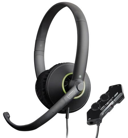 Headset Blaster Tactic360 Ion para Xbox 360 com Microfone e Controle de Volume GH0210 (70GH021000001) - Creative