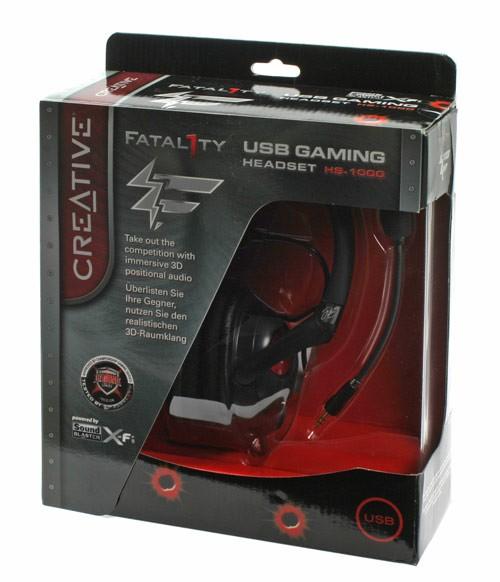 Headset Gamer Fatal1ty com Microfone e Controle de Volume HS-800 (51MZ0310AA005) - Creative