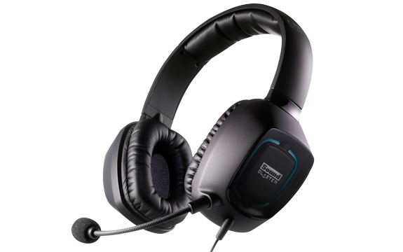 Headset Blaster Tactic3D Alpha com Microfone e Controle de Volume GH0120 Preto (70GH012000002) - Creative