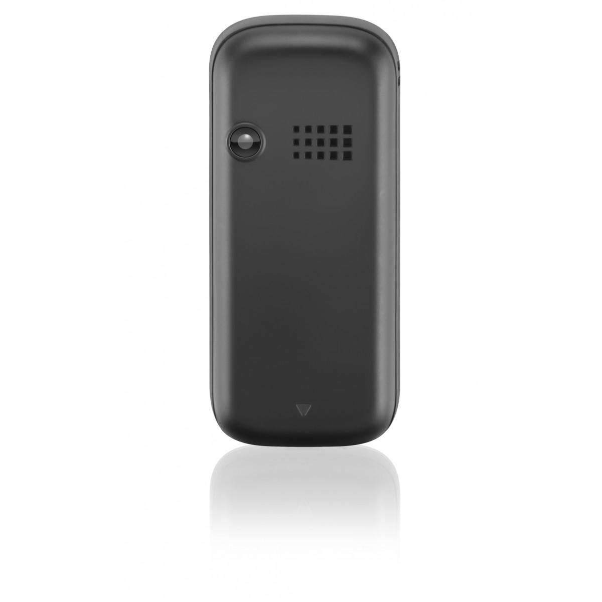 Celular UP P3198 3 Chips Quad MP3/MP4 Cinza