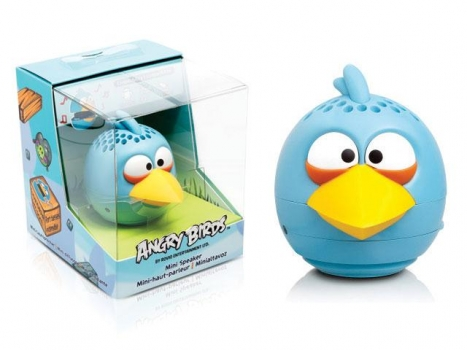 Caixa de Som Angry Birds Mini Speaker Blue Bird 2,5W RMS (PG780G) - Gear4