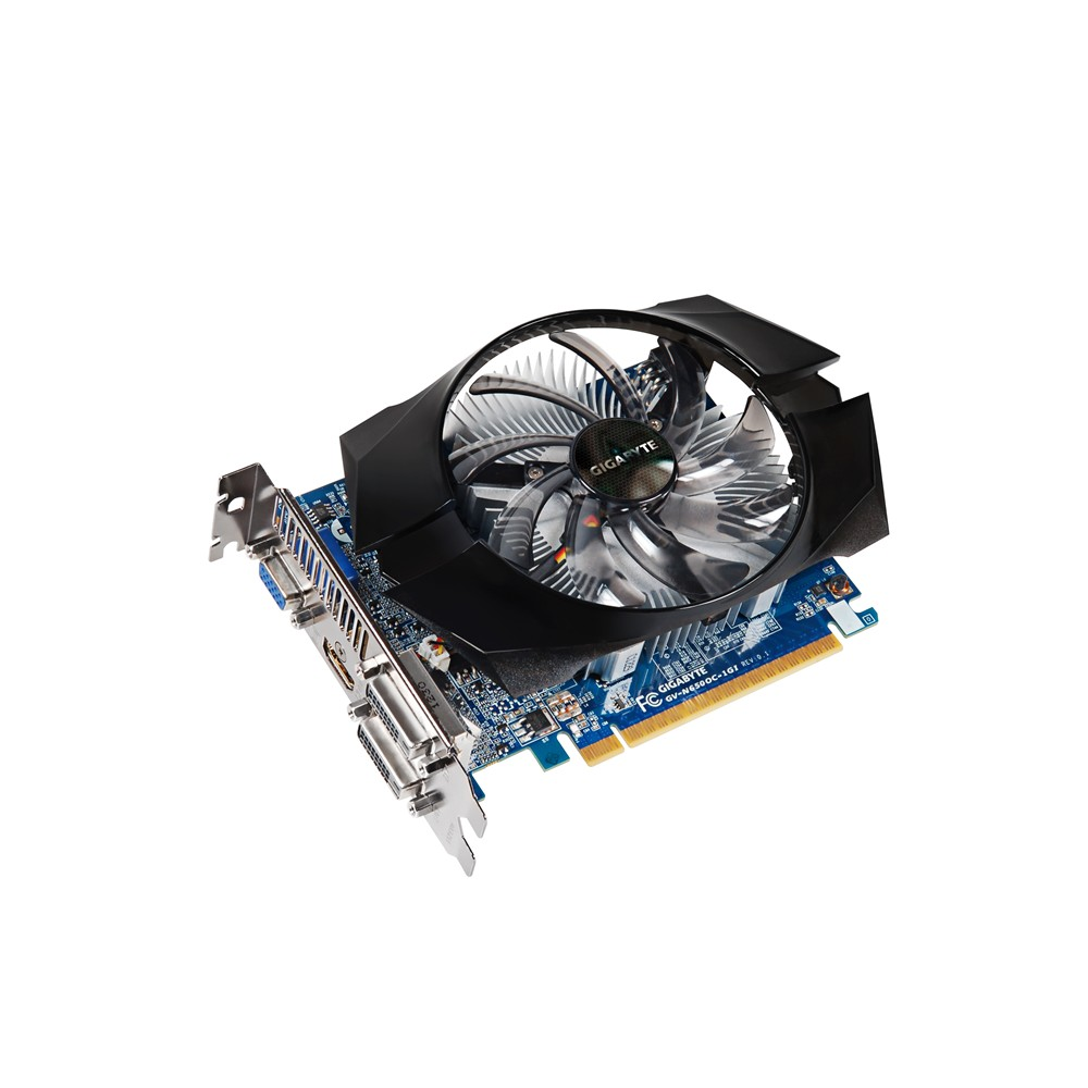 Placa de Vídeo GeForce GTX650 1GB DDR5 GV-N650OC-1GI - Gigabyte -