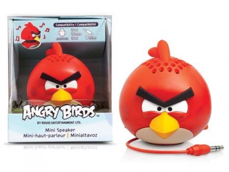 Caixa de Som Angry Birds Mini Speaker Red Bird 2,5W RMS (PG778G) - Gear4
