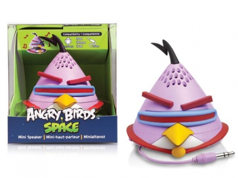 Caixa de Som Angry Birds Mini Speaker Lazer Bird 2,5W RMS ( PG781G) - Gear4