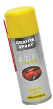 Grafite Spray 250ml Lubrifica a Seco - Autobelle