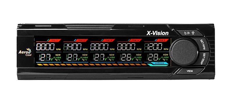 Controlador de Fan X-Vision EN55529 - Aerocool