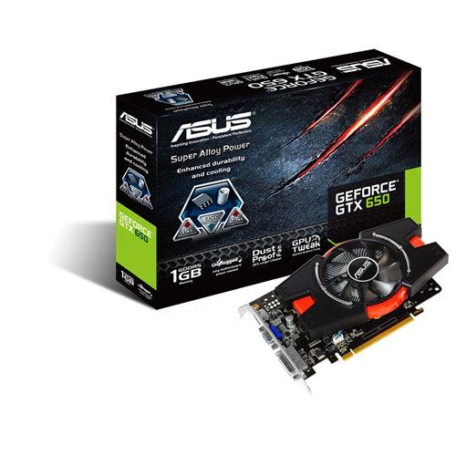 Placa de Vídeo GeForce GTX650 1GB DDR5 128Bits GTX650-E-1GD5/BR - Asus -