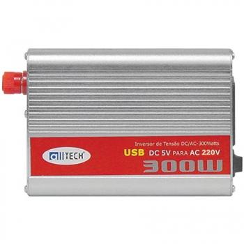 Inversor Automotivo 12V 220V USB 300W - Alltech