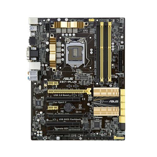 Placa Mãe LGA 1150 Z87-PLUS (S / R) - Asus