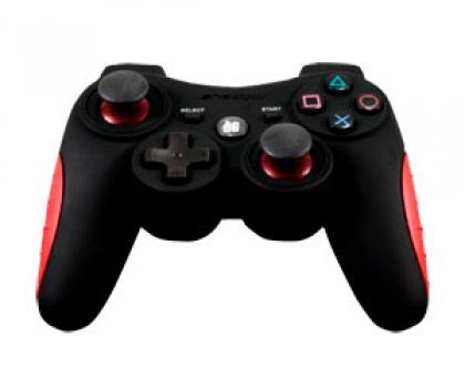 Controle Sem Fio Emborrachado Shadow 6 Para PS3 DGPS3-1362 - Dreamgear