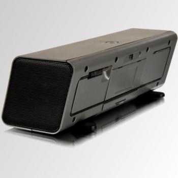 Caixa de Som Portatil 2W RMS USB e Bateria MD220 - Microlab