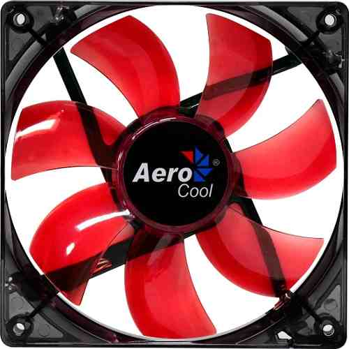 Cooler Fan 140x140 Lighting Red EN51370 - Aerocool