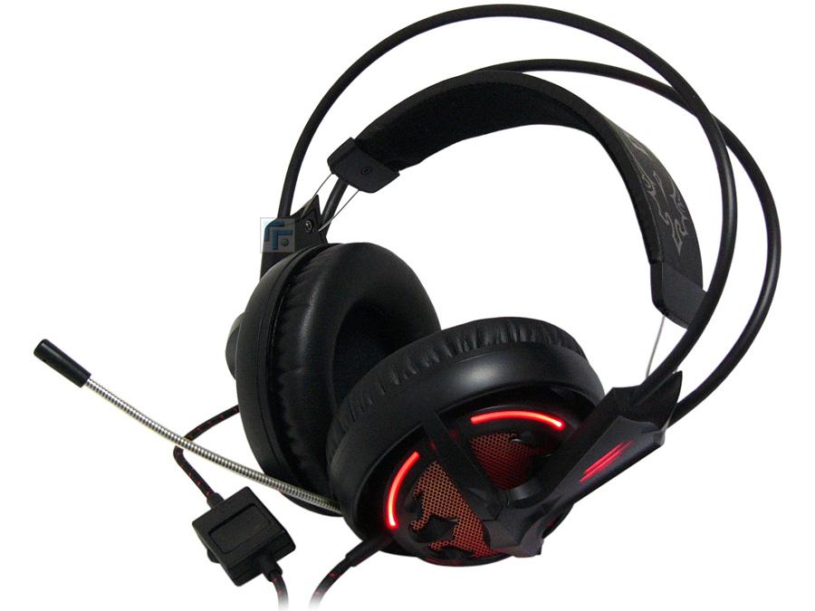 Fone de Ouvido Siberia V2 Diablo III com Microfone USB (LED Vermelho) 57002 - Steelseries