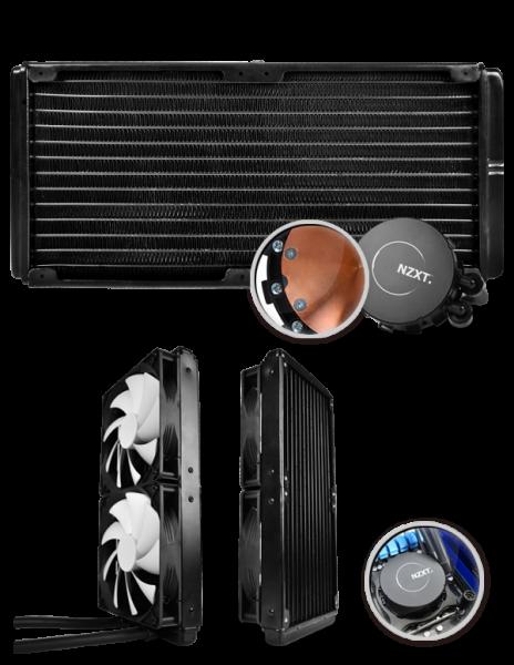 Cooler Refrigerado a Agua Kraken X60 Performance Extrema CLR-NT-KRA-X60 - NZXT