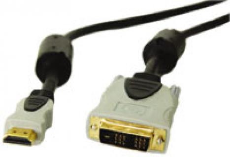 Cabo HDMI x DVI com Filtro 2m ST-HDMI-DVI - Smart
