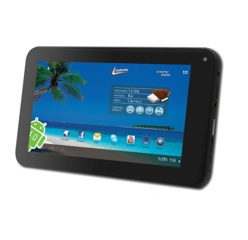 Tablet Mobile 7 Polegadas 1.5Ghz 512MB de RAM 8GB Armanezamento 7072 - Leadership
