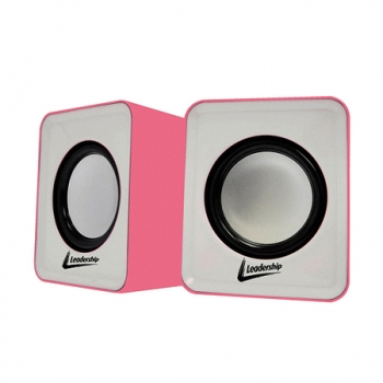 Caixa de Som USB Cool mini Speaker 4908 Rosa - Leadership