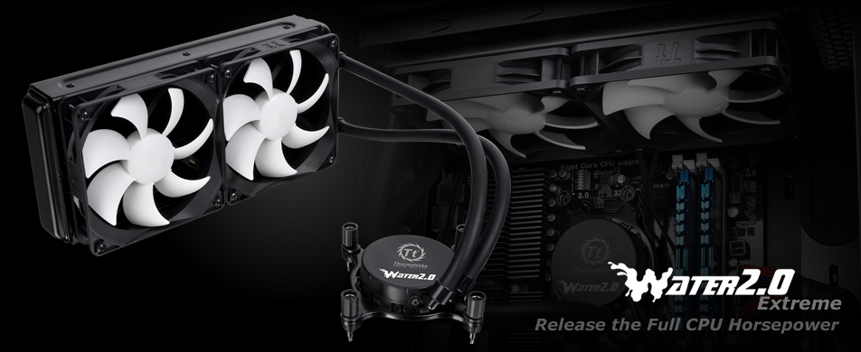 Cooler para CPU Refrigerado a Agua Water 2.0 Extreme All-in-one Lcs Clw0217 - Thermaltake