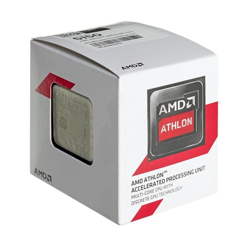 Processador AM1 Athlon 5150 Quad Core 1.6Ghz APU BOX AD5150JAHMBOX - AMD