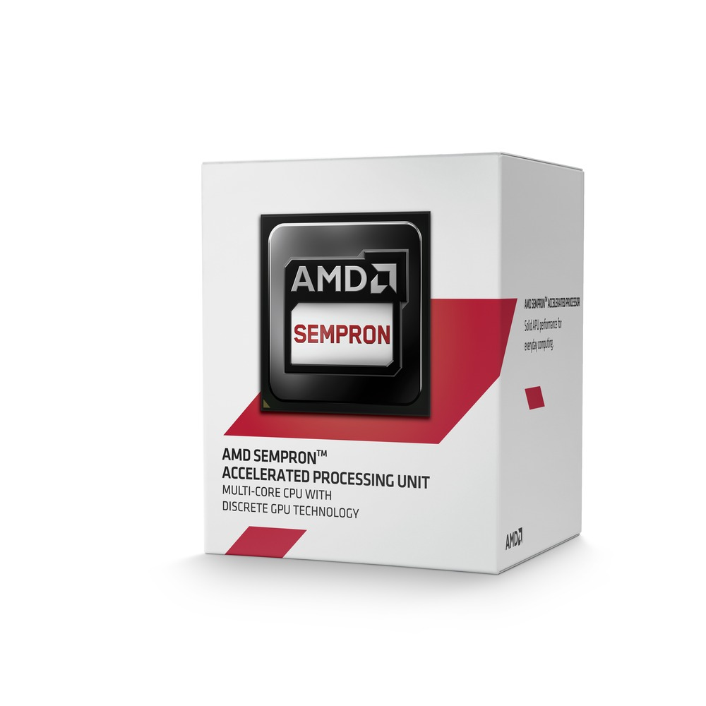 Processador AM1 Sempron Dual Core 1.45Ghz 2650 BOX SD2650JAHMBOX - AMD
