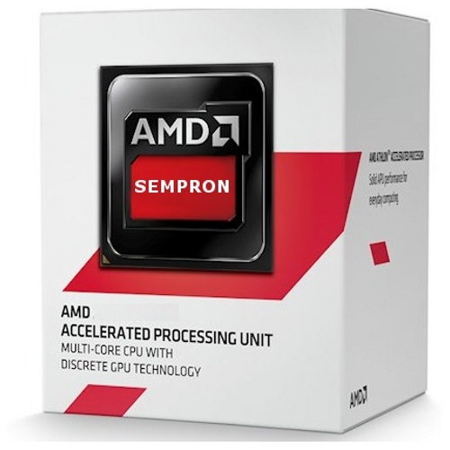 Processador AM1 Sempron Quad-Core 3850 1.3Ghz 2MB BOX SD3850JAH - AMD