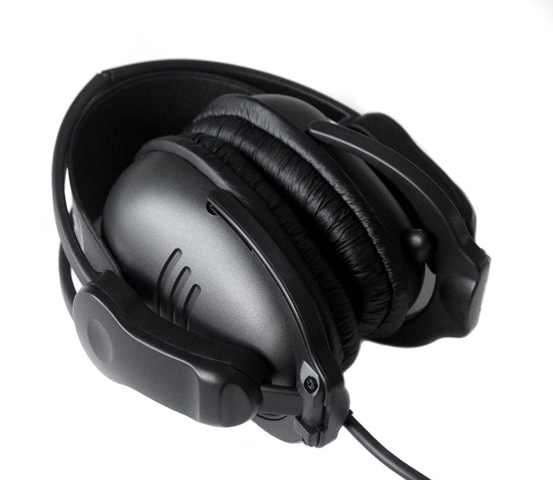 Fone de Ouvido com Microfone Retratil 3H USB 7.1 Preto (Dobravel) - Steelseries