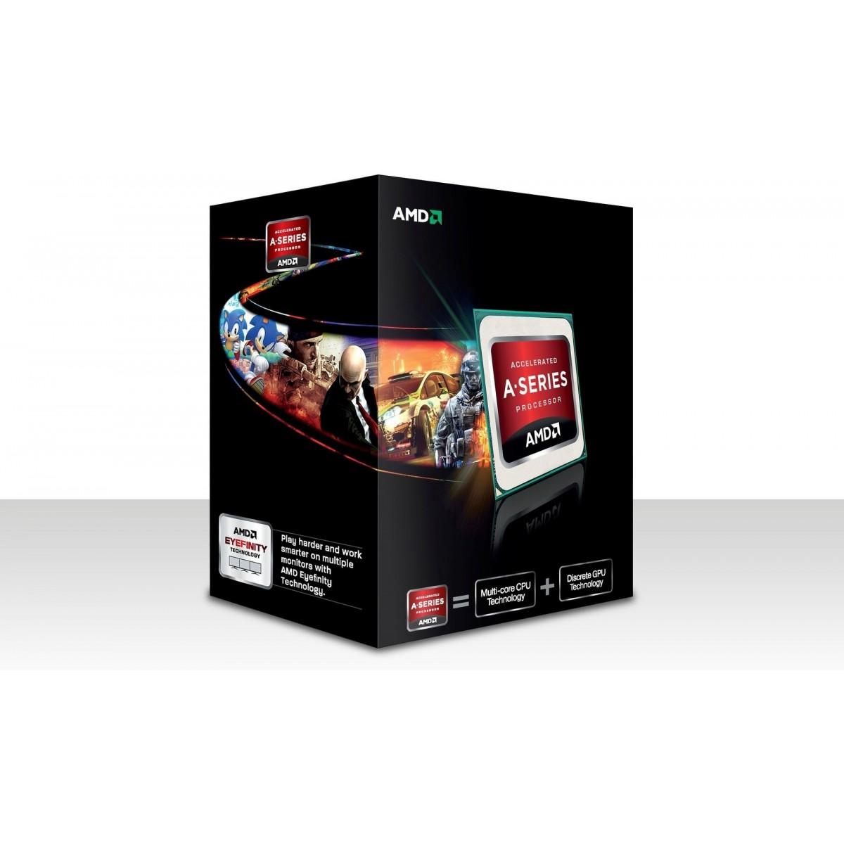 Processador AMD FM2 A8 5600K 3.6Ghz 4MB Radeon HD7560D AD560KWOHJBOX AMD