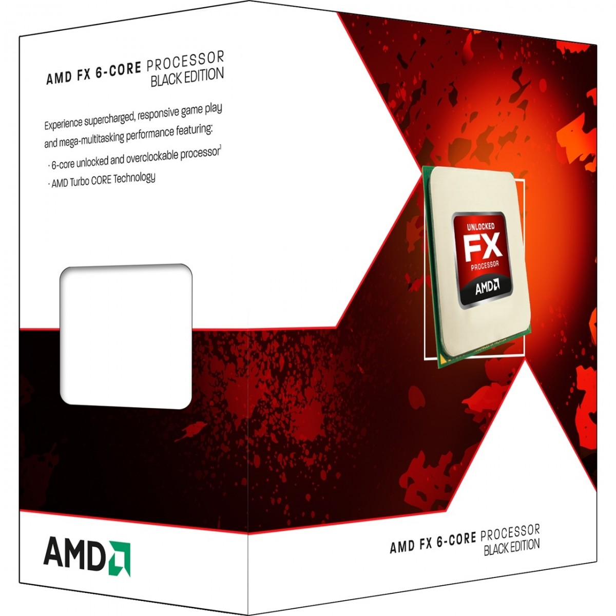 Processador AMD FX 6300 3.5GHz 14MB AM3 FD6300WMHKBOX T - AMD