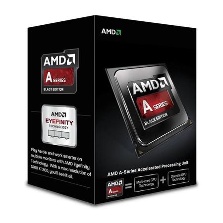Processador A10 6800K Quad Core 4.1GHz 4.4GHz Max Turbo Socket FM2  AD680KWOHLBOX