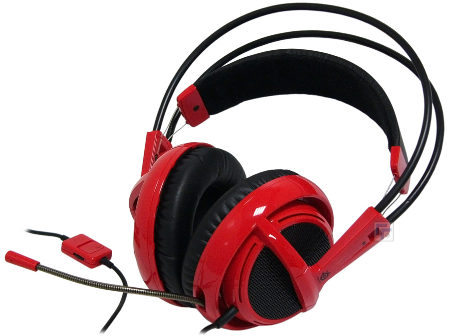 Headset Siberia V2 Red com Microfone 51104 - Steelseries