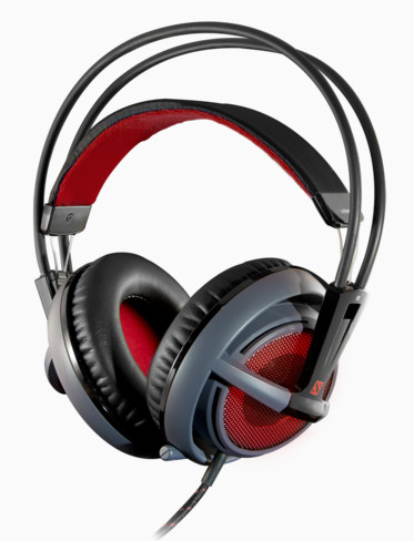 Headset Siberia V2 DOTA 2 Edition com Microfone USB (LED Vermelho) 51143 - Steelseries