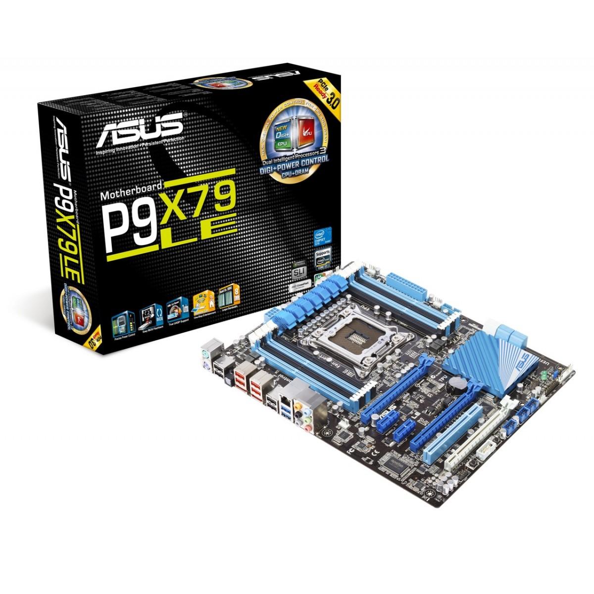 Placa M�e LGA 2011 P9X79-LE LGA 2011 Chipset X79 (S/R) - Asus