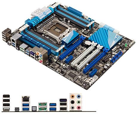 Placa Mãe LGA 2011 P9X79-LE LGA 2011 Chipset X79 (S/R) - Asus