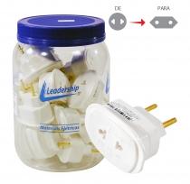 Adaptador Universal 2p 10a/250V (7115) ( A Unidade) - Leadership