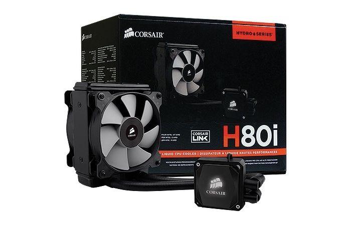 Cooler para CPU Refrigerado a Agua H80i (Hydro Series) Alta Performance CW-9060008-WW - Corsair